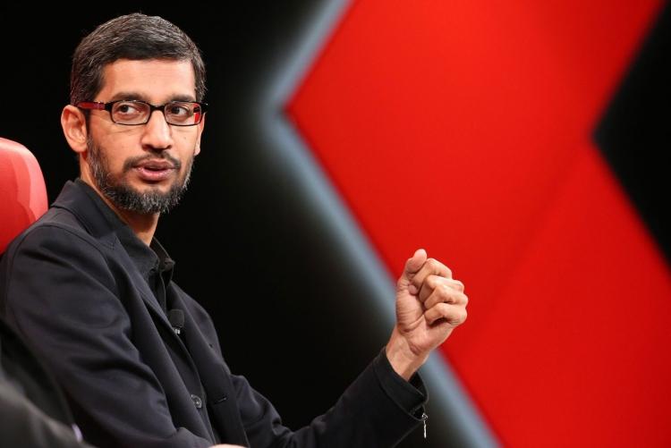 CEO Google Sundar Pichai (Asa Mathat / Recode)
